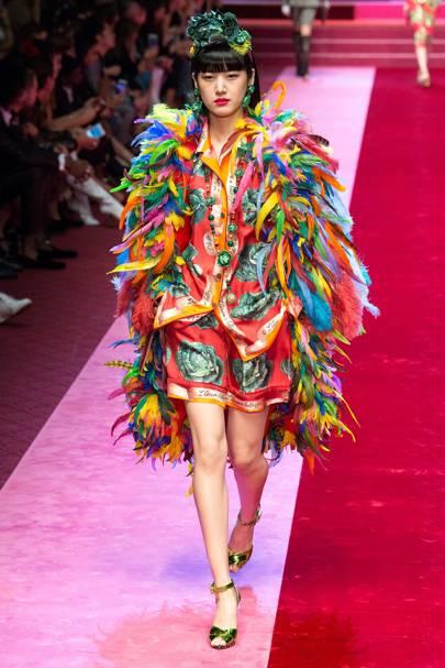 Dolce & Gabbana at Milan Fashion Week S/S18