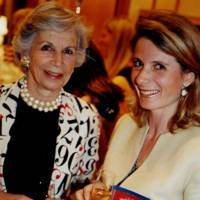 The Countess of Airlie and Mrs Bertrand Coste