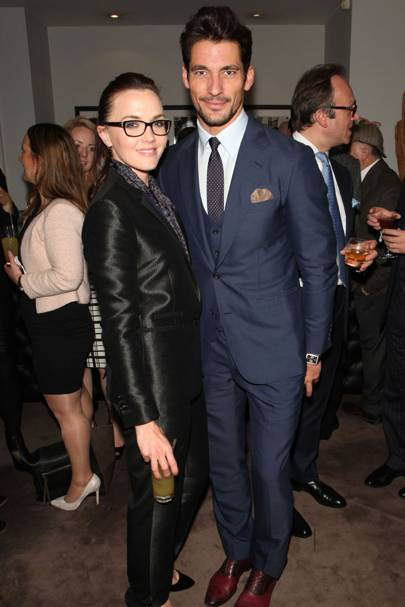 Victoria Pendleton and David Gandy