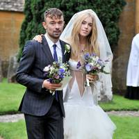 2012 - Robbie Furze and Lady Mary Charteris