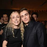 Franca Sozzani and Dave Franco