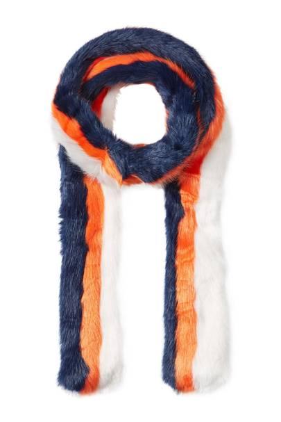 Charlotte Simone faux-fur scarf