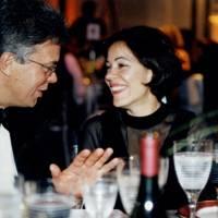 Earl St Aldwyn and Mrs Sergio Do Amaral