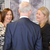 Suzanne Hawkesworth, Nigel Inns and Maxine Pillinger