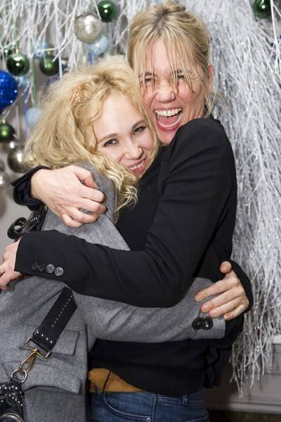 Juno Temple and Amanda Pirie