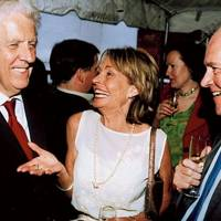 Lord Powell, Mrs Peter Lilley and Peter Lilley