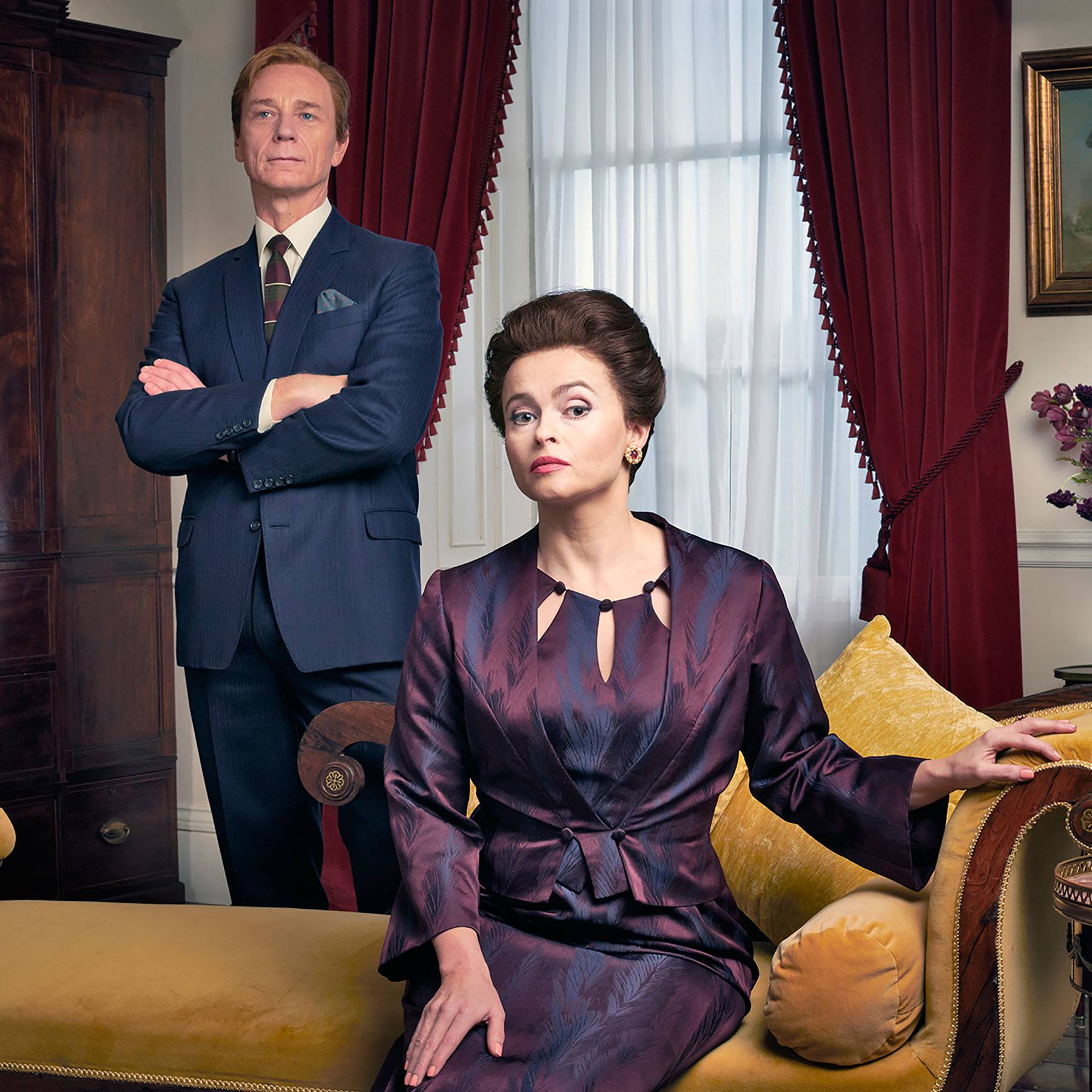 'The Crown' star Helena Bonham Carter's celebrity sleepover at Buckingham Palace