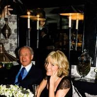 Sir Mark Weinberg and Marta Ibarrondo