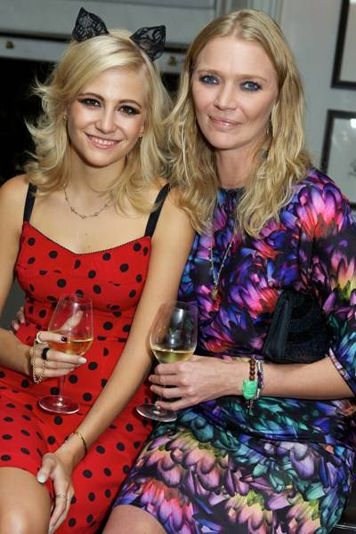 Pixie Lott and Jodie Kidd