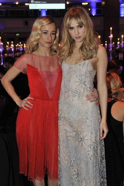 Leah Wood and Suki Waterhouse