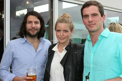 Phil Clague, Katie Readman and Jamie Dundas