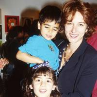 Mrs Manu Duggal, Daniel Duggal and Alexandra Duggal