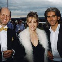 Adrian Newey, Mrs Adrian Newey and Damon Hill