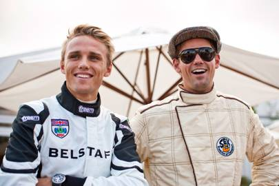 Max Chilton and Tom Chilton