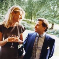 Baroness Bentinck and Simon Philips