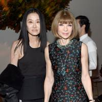 Vera Wang and Anna Wintour