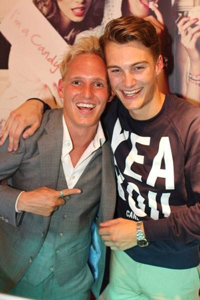 Jamie Laing and Jesse Burgess