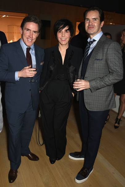 Rob Brydon, Sharleen Spiteri and Jimmy Carr