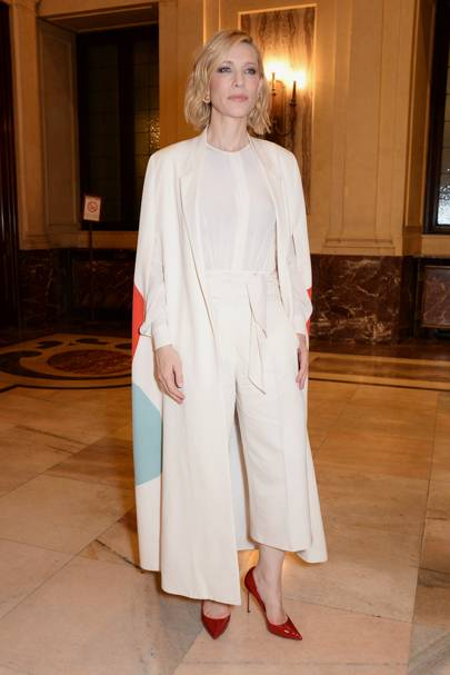 Cate Blanchett at the Green Carpet Fashion Awards