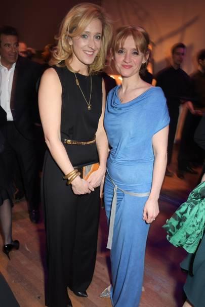 Kate Pakenham and Anne-Marie Duff