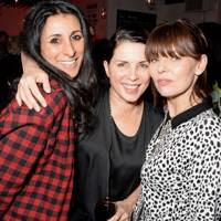 Sadie Frost, Serena Rees and Jemima French