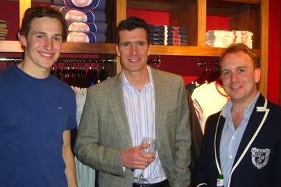 James Johnston, Greg Searle and Richard Cross