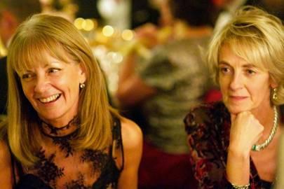 Maxine Goring and Amanda Christie