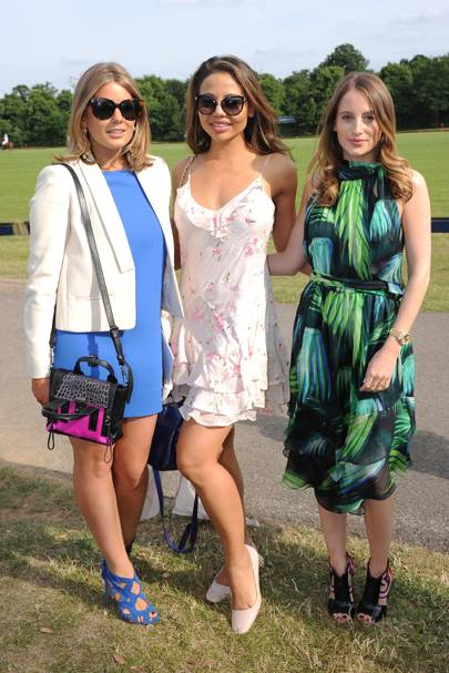 Tarka Russell, Viscountess Weymouth and Rosie Fortescue