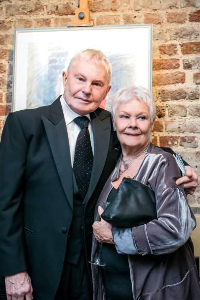 Sir Derek Jacobi and Dame Judi Dench