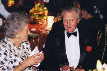 Lady Richardson of Duntisbourne and Michael Heseltine