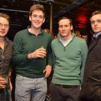 James Nelson Sullivan, Toby Drax, Geordie Ogilvy Wedderburn and Nick Selby Bennett