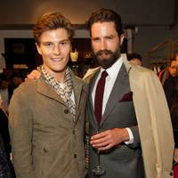 Oliver Cheshire and Jack Guinness