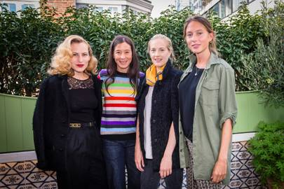 Charlotte Olympia, Madeleine Thompson, Polly Morgan and Jemima Jones