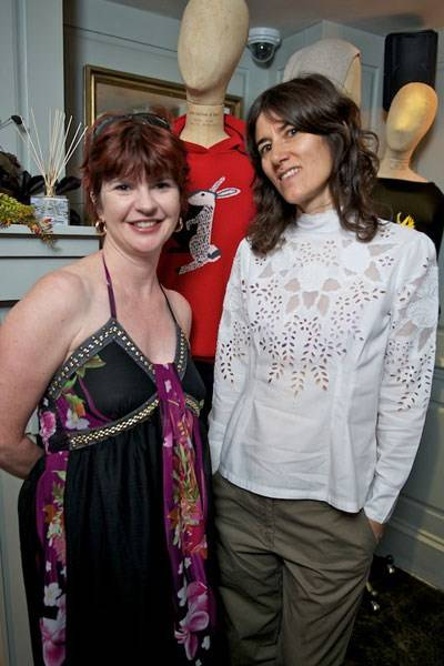 Helen Barbour and Bella Freud