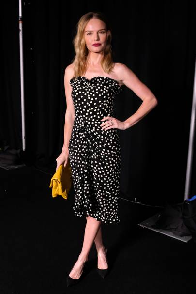 Kate Bosworth at the Escada show