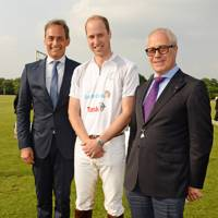 Jon Zammett, The Duke of Cambridge and Andre Konsbruck