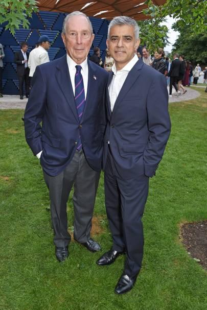 Michael Bloomberg and Sadiq Khan