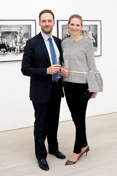 Giuseppe Prestia and Julia Prestia