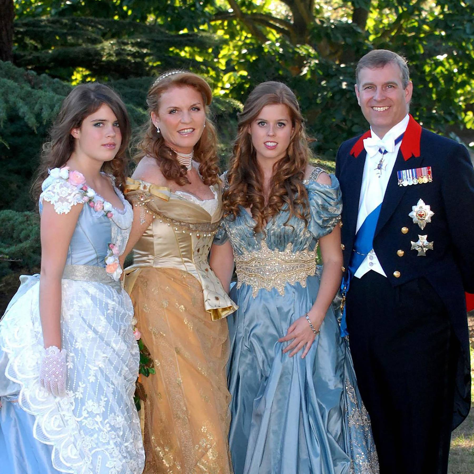 A photograph of a trio of very unwelcome guests emerges from Princess Beatrice's 18th birthday party