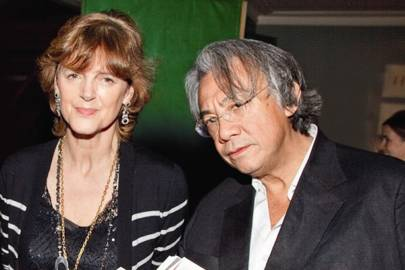 Virginia Fraser and Sir David Tang