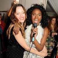 Alice Temperley and Shingai Shoniwa