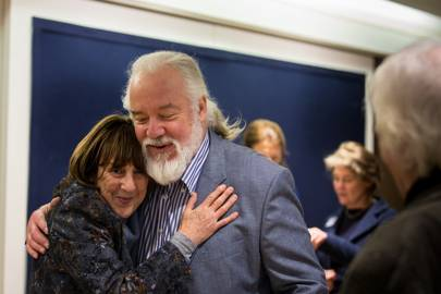 Wendy Kramer and Sir John Tomlinson