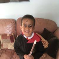 Matti McCollin-Moore as Harry Potter