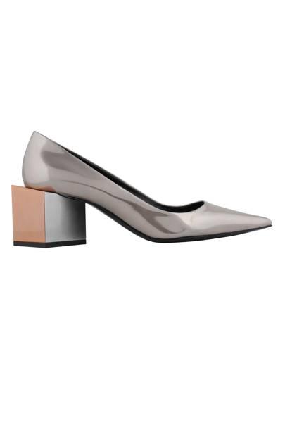 Patent heels, £430, by Pierre Hardy
