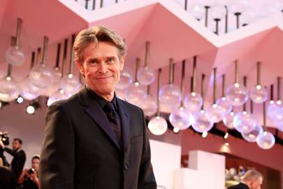 Willem Dafoe at the 'At Eternity's Gate' premiere