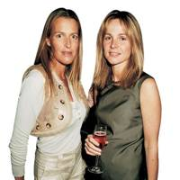India Hicks and Viscountess Rothermere