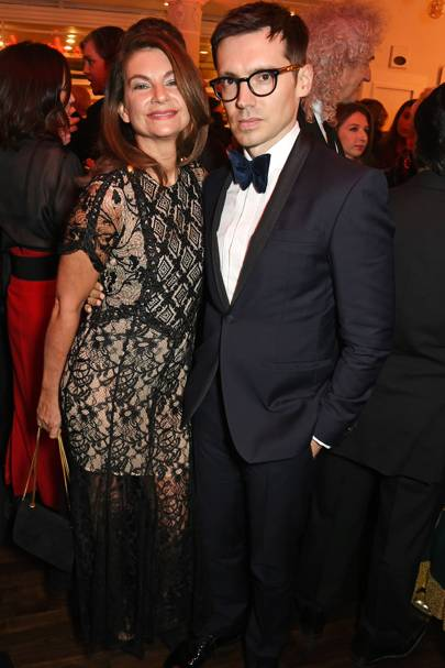 Natalie Massenet and Erdem Moralioglu