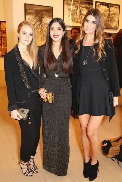 Petra Palumbo, Noor Fares and Bianca Brandolini