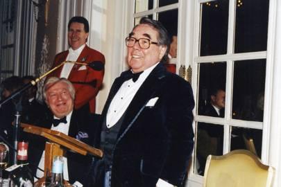 Colin Ingleby Mackenzie and Ronnie Corbett