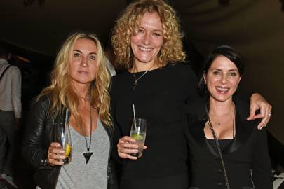 Meg Matthews, Lucy Baxter and Sadie Frost